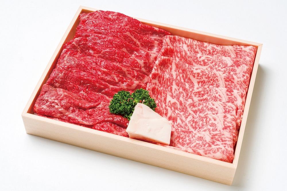 【ふるさと納税】「おおいた和牛」モモ・ロースすき焼き用(計500g)