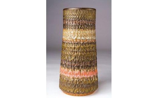 【ふるさと納税】木下窯 筒花器