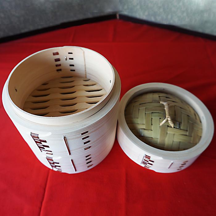 【ふるさと納税】萬力屋の桧曲輪中華セイロ(18cm)2段1組 伝統 工芸<20-E5001>