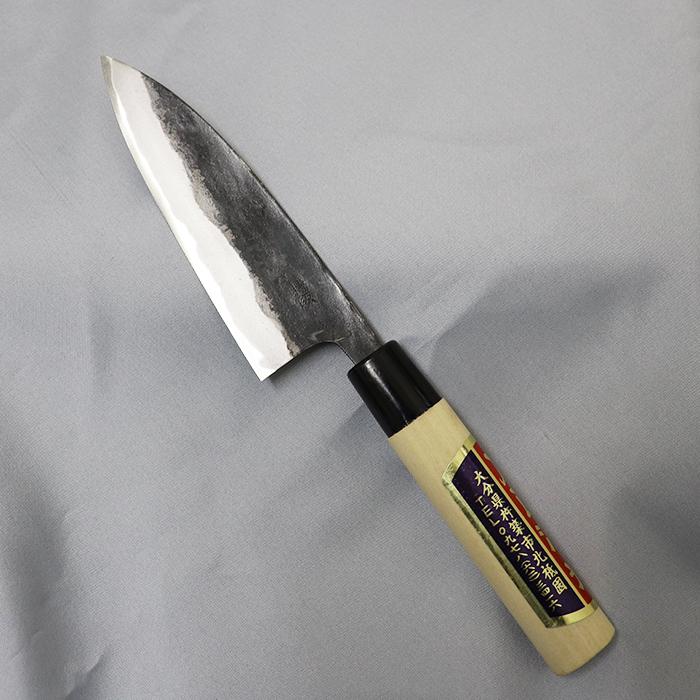 【ふるさと納税】刀匠が丹精込めて仕上げた切味抜群 小包丁(刃渡120mm)<39-B0017>