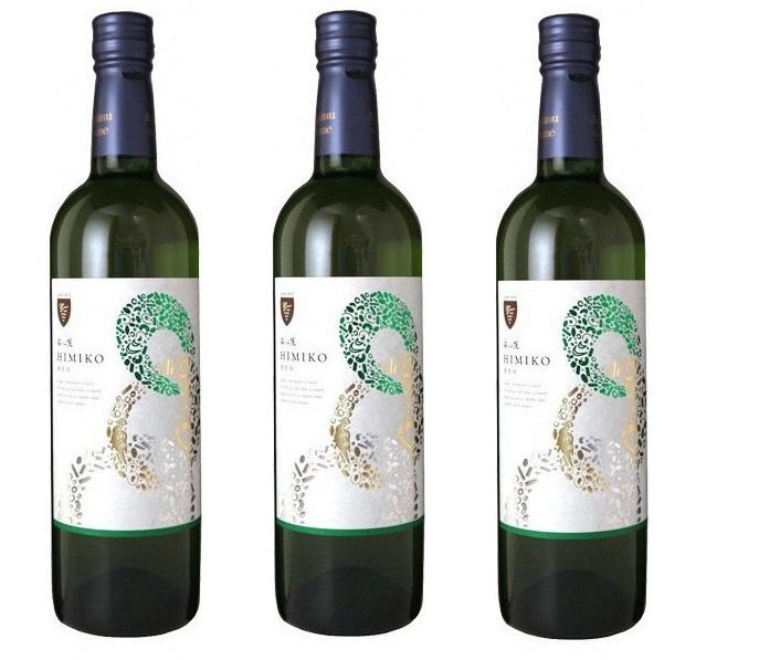 【ふるさと納税】安心院葡萄酒工房 安心院ワイン 卑弥呼(白)720ml 3本セット