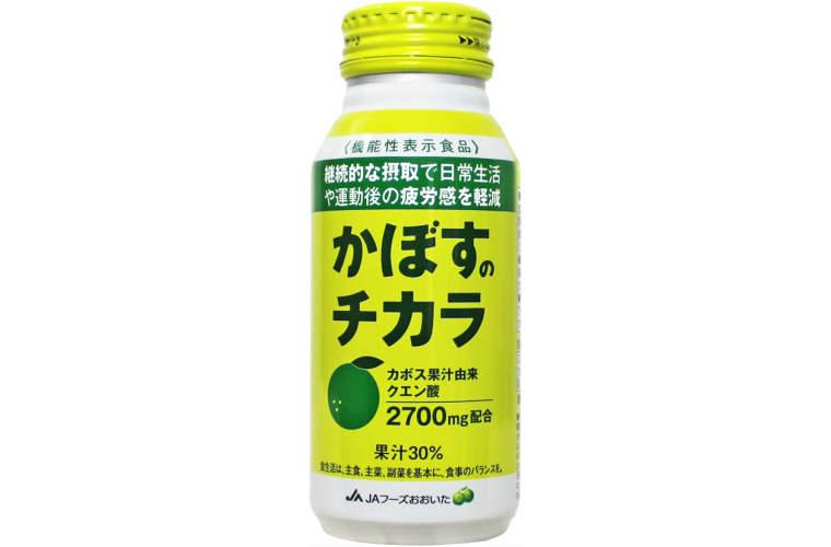 【ふるさと納税】かぼすのチカラ190g×24本(清涼飲料)