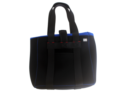 【ふるさと納税】便利で安心!クロッツトートバッグ(浮力材入り)カラー/ブルー・通