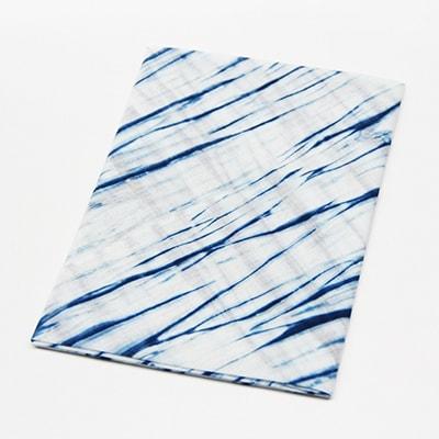 【ふるさと納税】天然灰汁発酵建 藍染ハンカチ AG01【1102610】
