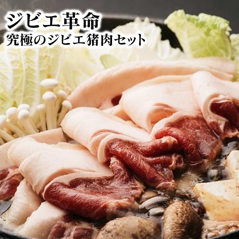 【ふるさと納税】ジビエ革命~究極のジビエ 猪肉セット