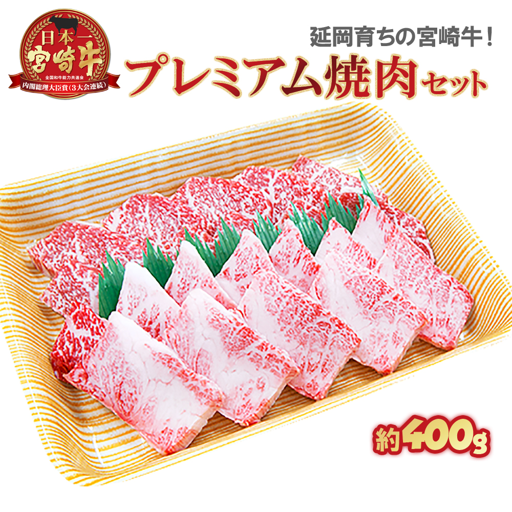 【ふるさと納税】延岡育ちの宮崎牛 プレミアム焼肉セット
