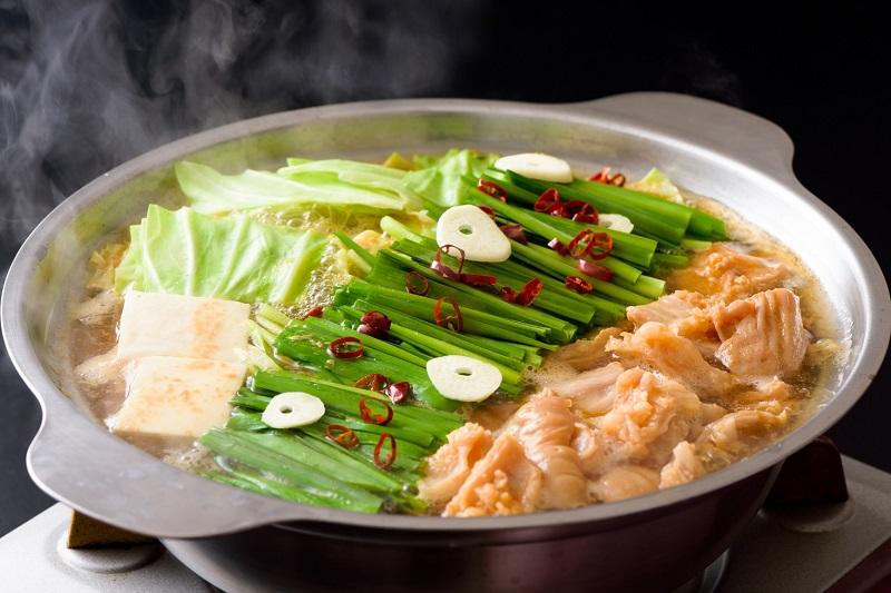 【ふるさと納税】【(株)甲斐精肉店】自家製タレに漬け込んだ「味付ホルモンと味付もつ鍋」セット 2.1kg