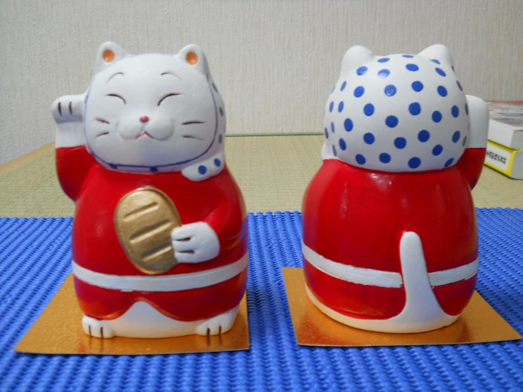【ふるさと納税】手づくり招き猫
