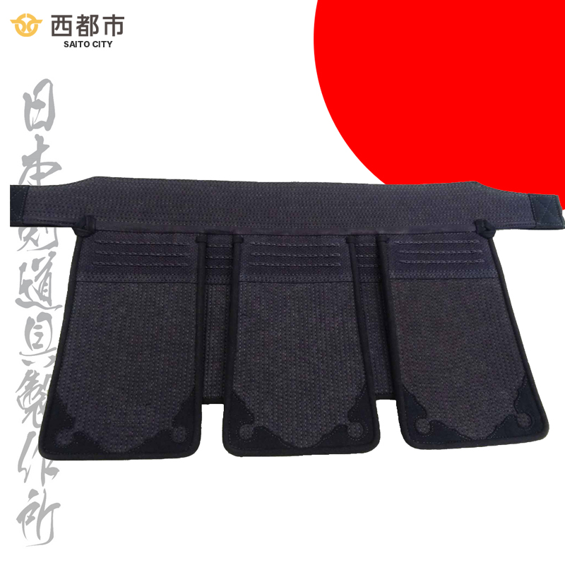 【ふるさと納税】剣道防具ジュニア 垂 (少年用)