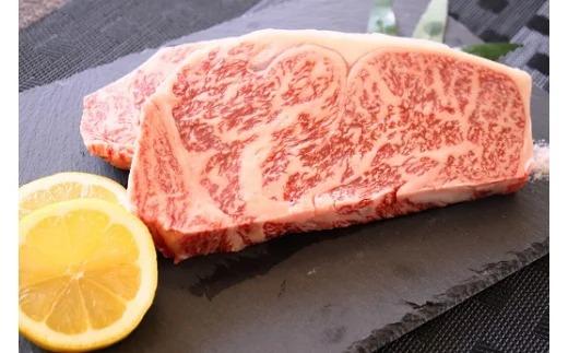 自然豊かな綾町で育てられた安心 安全の綾牛のロースステーキです オンライン限定商品 2020秋冬新作 食された時のお口の中でとろける甘みをご賞味ください ふるさと納税 綾牛ロースステーキ 400g