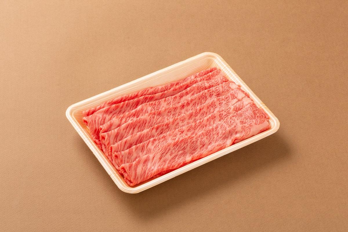 """お肉好きも納得の鹿児島県産黒毛和牛のうす切りは さっと炙った焼肉が特におすすめの食事方法です 絶妙な霜降りでコクのある""""肩ロース""""はきっとご満足いただけます 入手困難 ファッション通販 冷凍配送 ふるさと納税 鹿児島県産黒毛和牛 すき焼き用 焼肉 うす切り"""