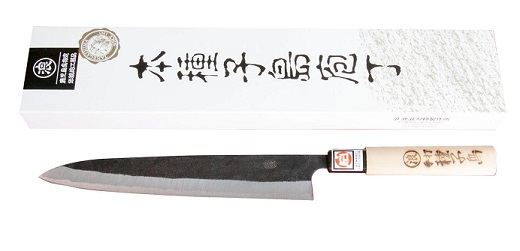 【ふるさと納税】種子包丁 刺身包丁両刃(大)