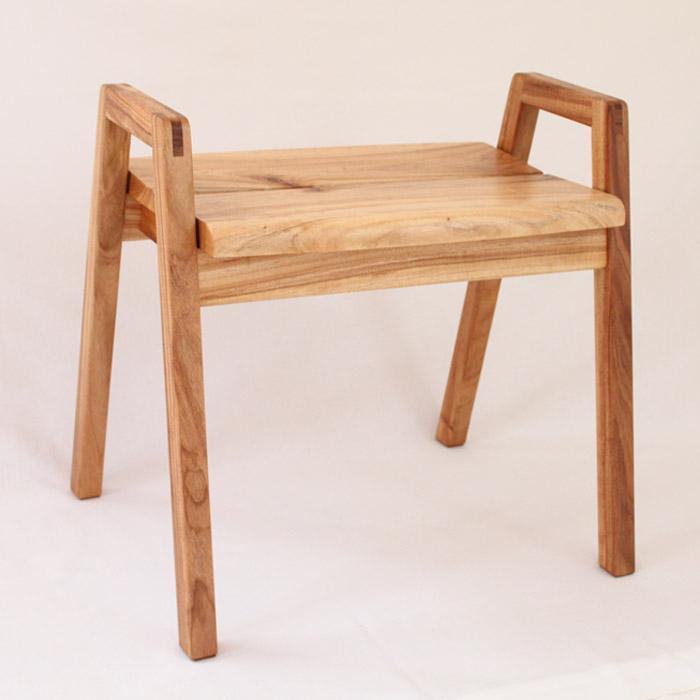 【ふるさと納税】スツール【樹種:クス】 椅子 イス いす インテリア おしゃれ