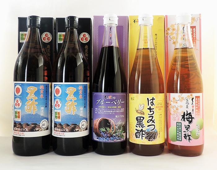 【ふるさと納税】黒酢詰め合わせセット