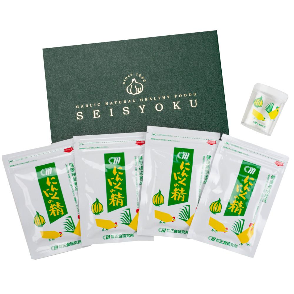 □【ふるさと納税】【健康補助食品】にんにくの精 4袋セット