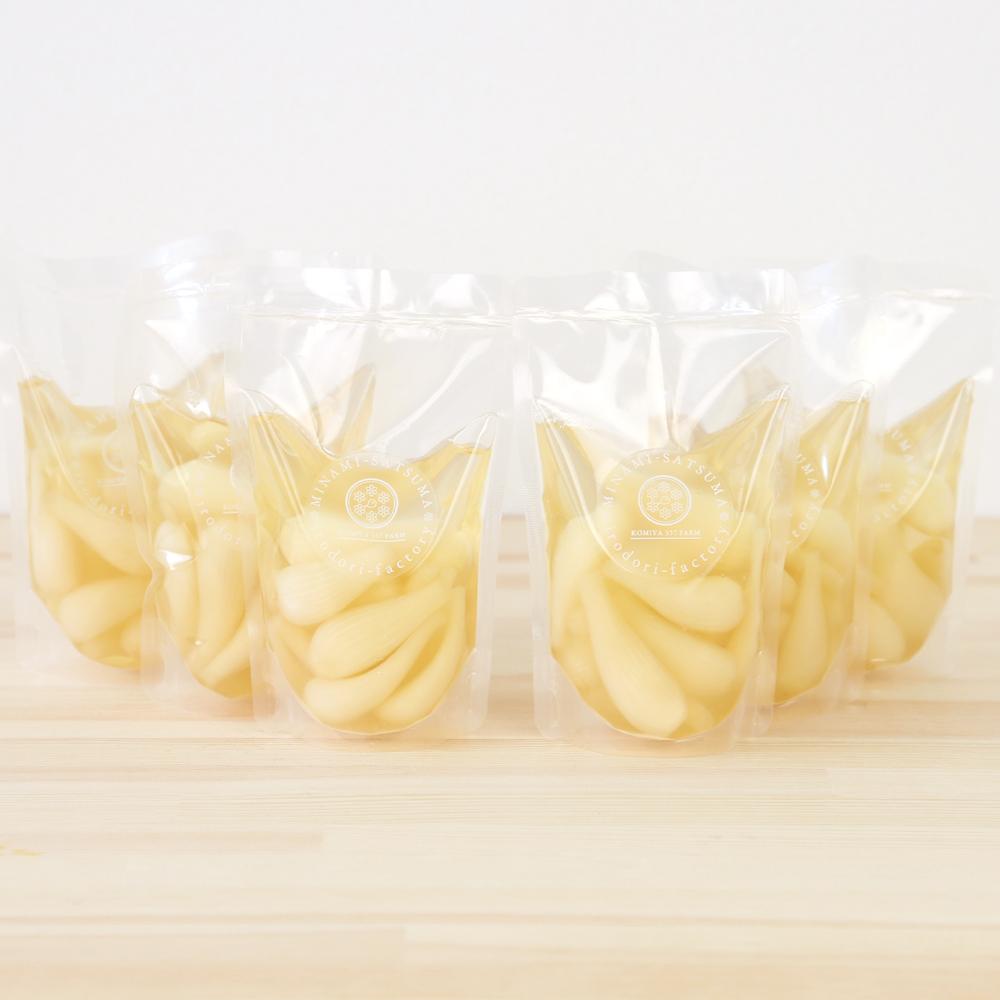 □【ふるさと納税】【鹿児島県産】農家のピクルス 甘酢らっきょう480g