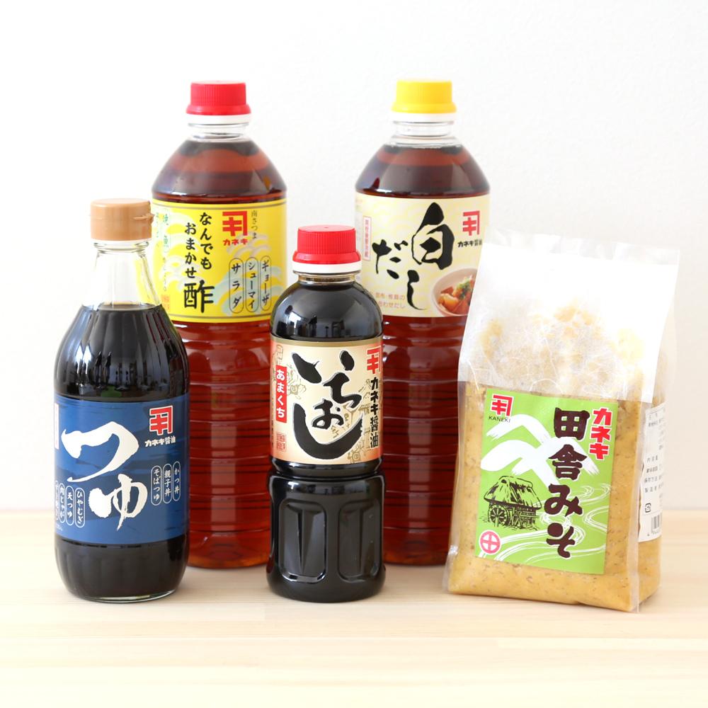 □【ふるさと納税】【蔵元直送】醤油・味噌の詰め合わせ(5種) 贈答用