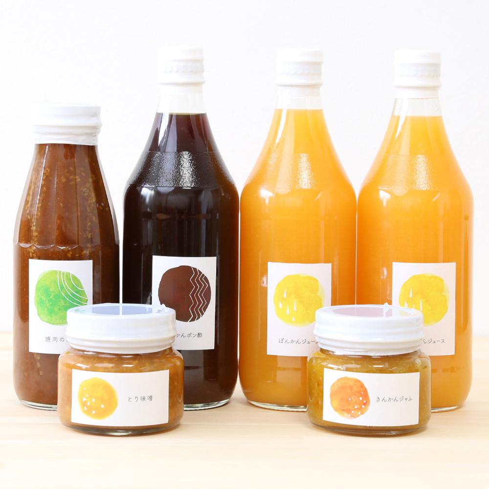□【保存料無添加】自然のめぐみ加工品セット(橙)