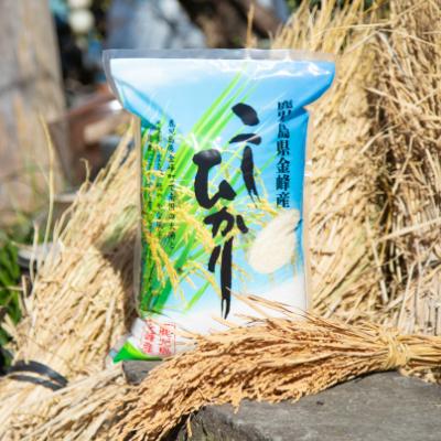 □【ふるさと納税】【玄米低温貯蔵】鹿児島県南さつま市産「金峰コシヒカリ」5kg