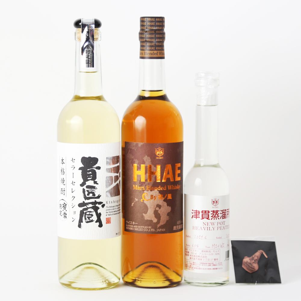 □【ふるさと納税】【地ウイスキー】マルス津貫蒸溜所 オリジナルウイスキー 2本&本格芋焼酎セット
