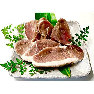 【ふるさと納税】鹿児島県奄美大島産「塩豚(赤肉・二枚肉)」2kgセット