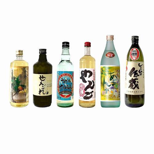 【ふるさと納税】【地域限定】奄美黒糖焼酎 隠れた銘酒 6本セット