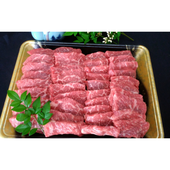 【ふるさと納税】No.3004 鹿児島県産 黒毛和牛 ももカルビ焼肉 1kg