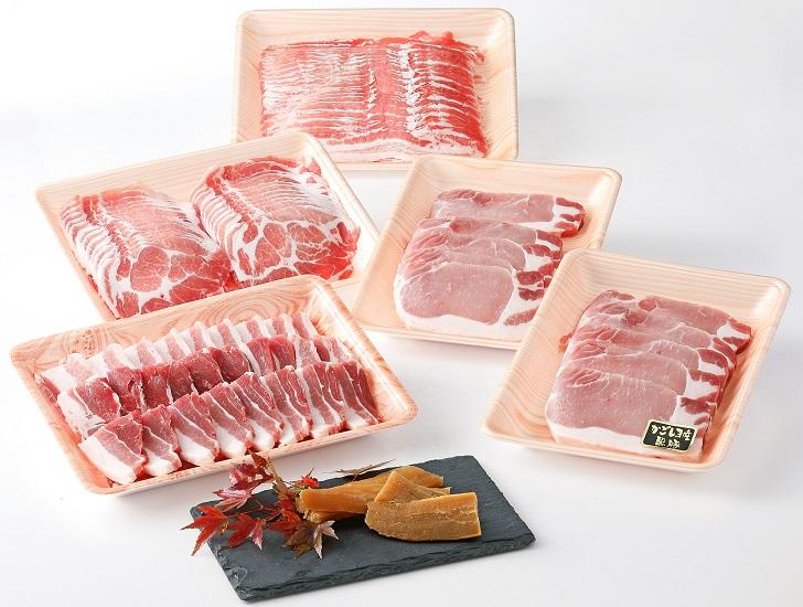 【ふるさと納税】特選黒豚大盛セット約2.5kg+干し芋