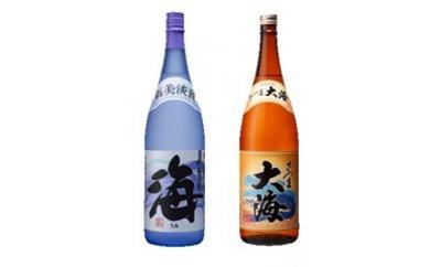 【ふるさと納税】大海酒造芋焼酎2本セット(海・大海)