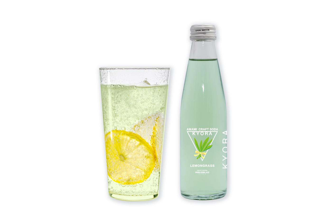【ふるさと納税】L-17 奄美クラフトソーダKYORA計40本セット(レモングラス)