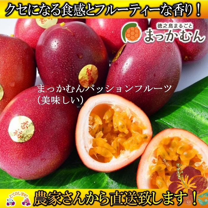 【ふるさと納税】(先行予約)徳之島のまっかむん(美味しい)パッションフルーツ