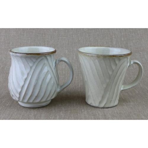 【ふるさと納税】涌井陶芸 マグカップ(乳白)
