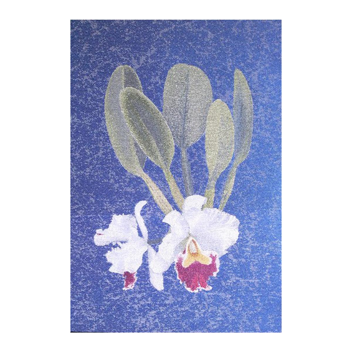【ふるさと納税】「蘭花布」掛軸風タペストリーS-2