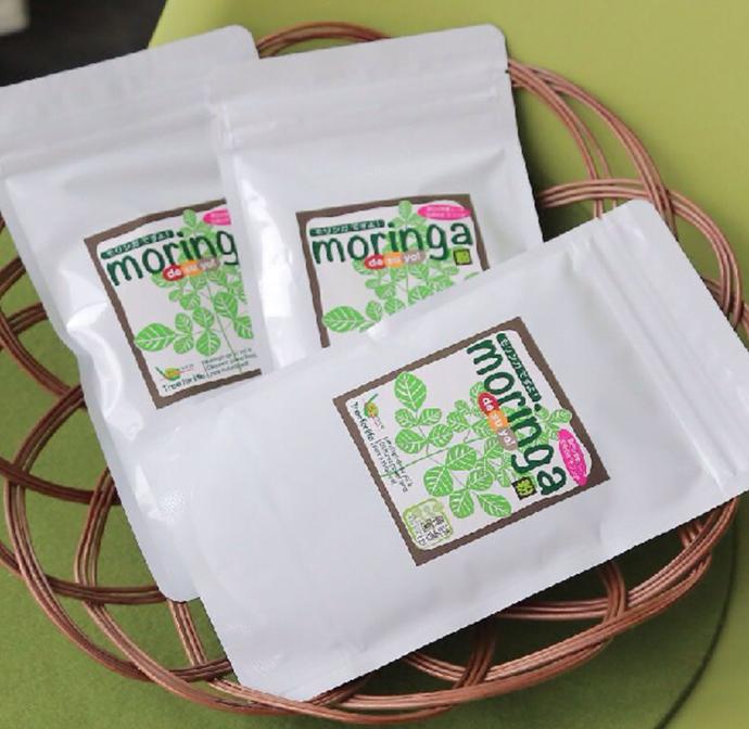 【ふるさと納税】ミラクルツリー「モリンガ」パウダー100g×3袋