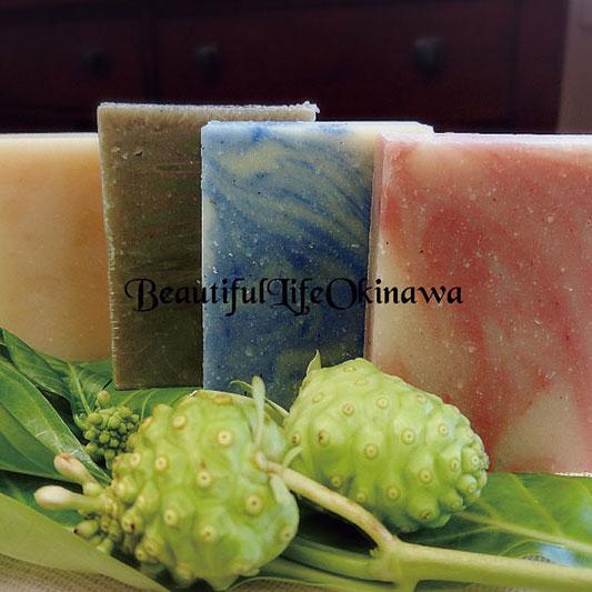 【ふるさと納税】okinawanonisoap沖縄ノニソープアロマ 3種セット