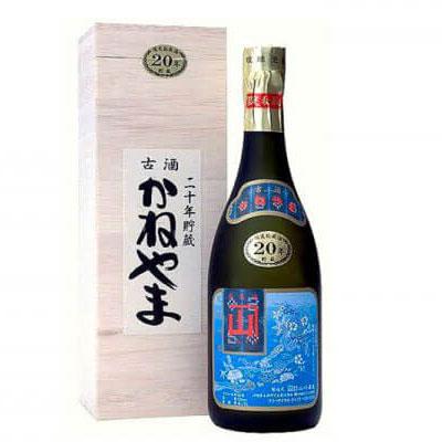 【ふるさと納税】【山川酒造】限定秘蔵酒かねやま 20年古酒