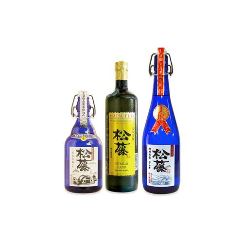 【ふるさと納税】【松藤】受賞酒セット<松藤限定3年古酒43度・プレミアム30度・5年古酒44度>