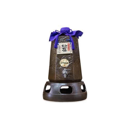 【ふるさと納税】【松藤】蛇口付き酒サーバー<3年古酒43度入り>