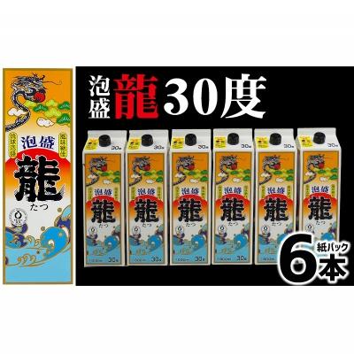 【ふるさと納税】龍 30度 紙パック 1800ml 6本セット