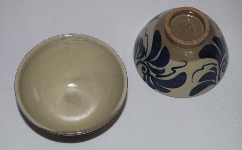 【ふるさと納税】【やちむん市場】草紋3.5寸マカイ(ご飯茶碗)ペア
