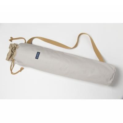 【ふるさと納税】「琉球帆布」ヨガマットケースA(ライトグレー)