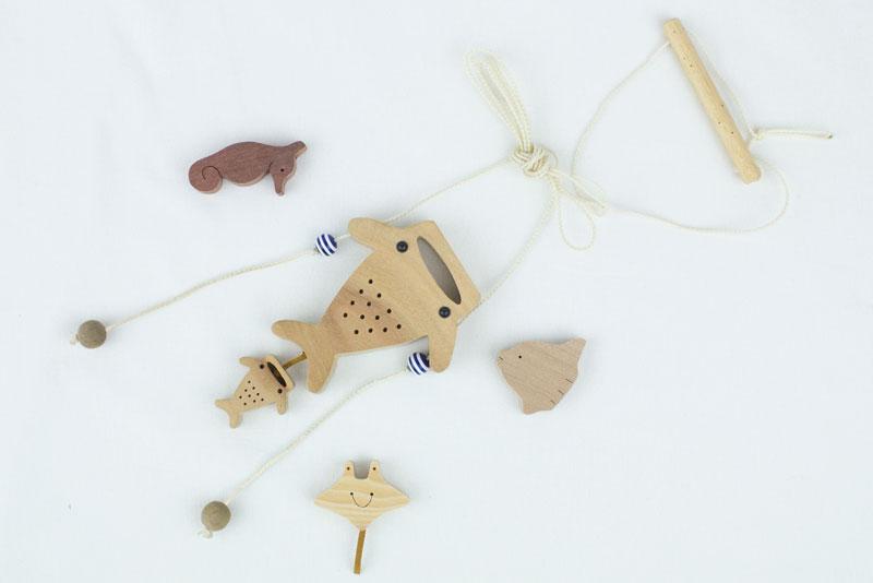 【ふるさと納税】【楽樹】のぼり人形 ジンベエ親子&マグネットセット