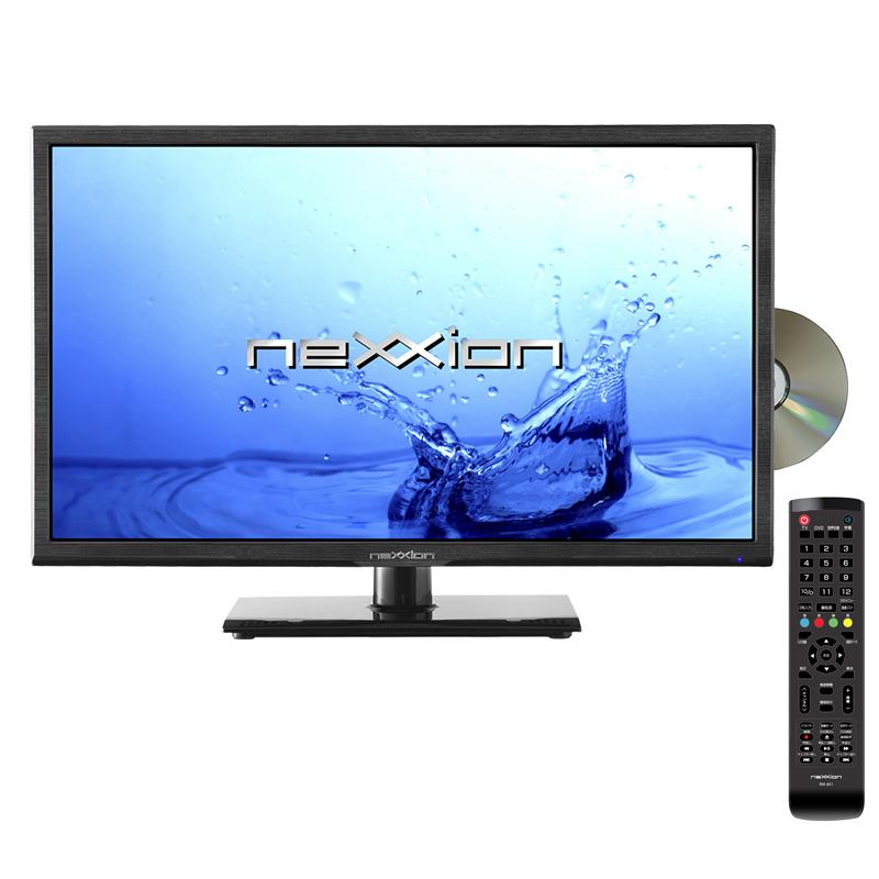 24V型 地上波デジタルハイビジョン液晶テレビ DVDプレーヤー内蔵 外付けHDD対応