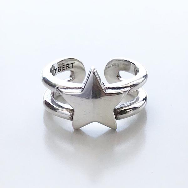 ★おススメモデル!★【PHILIPPE AUDIBERT/フィリップオーディベール】Rory ring , brass silver color,リング 指輪 ベーシック シルバー オシャレ 人気 シンプル ジュエリー アクセサリー ブランド