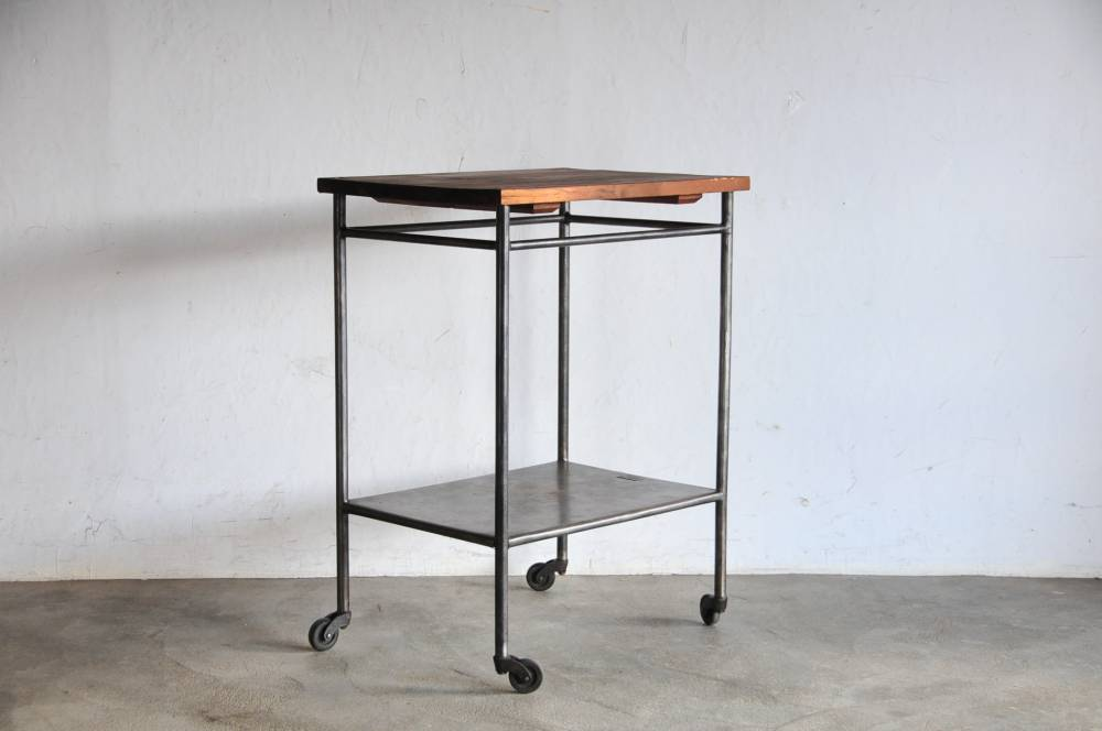 Vintage Industrial Iron caster table【中古】ヴィンテージ キャスター テーブル 工業デザイン