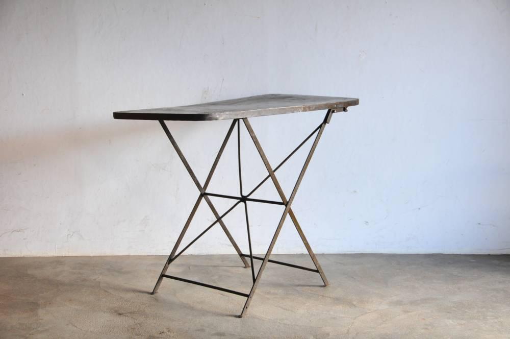 Vintage army desk table アンティーク Industrial【中古】アイアン デスク テーブル 工業
