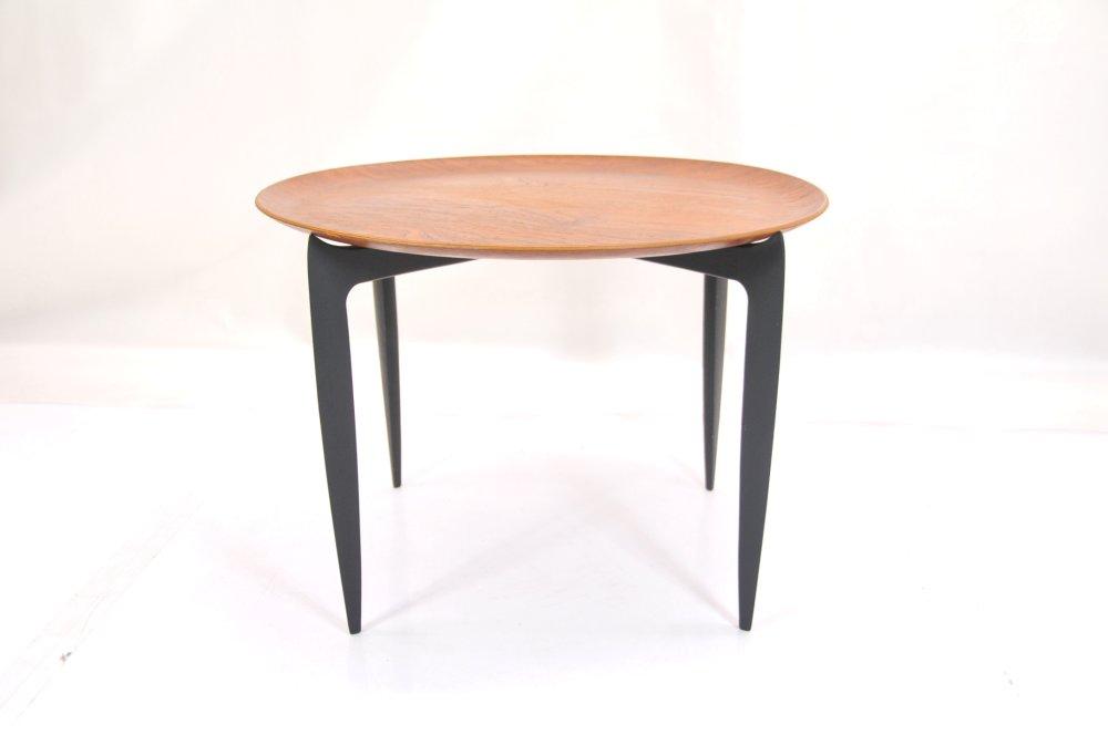 Fritz Hansen Tray table FH Bフリッツハンセン ウェグナー ビンテージ 北欧【中古】6045