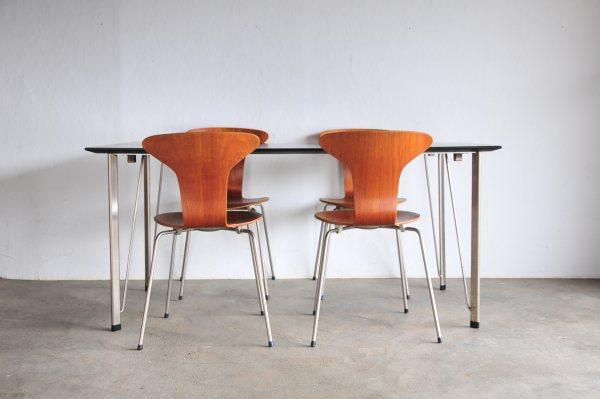 アルネ・ヤコブセン ダイニングテーブル FH3605 blackFritz Hansen Arne Jacobsen