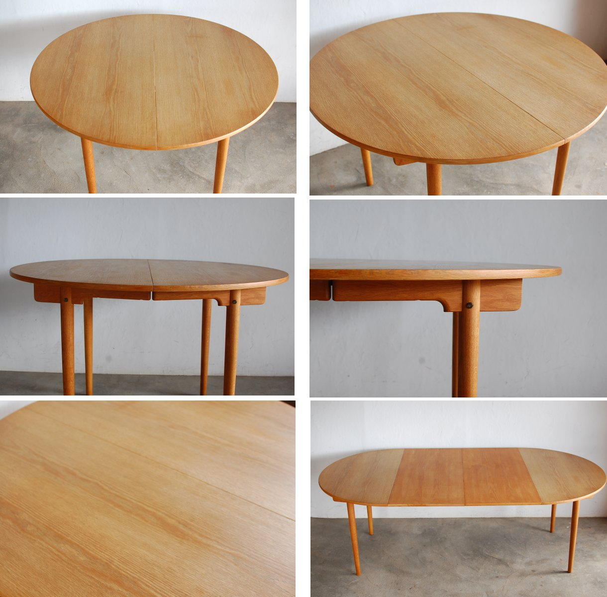 fabmod rakuten global market hans j wegner oak dining table