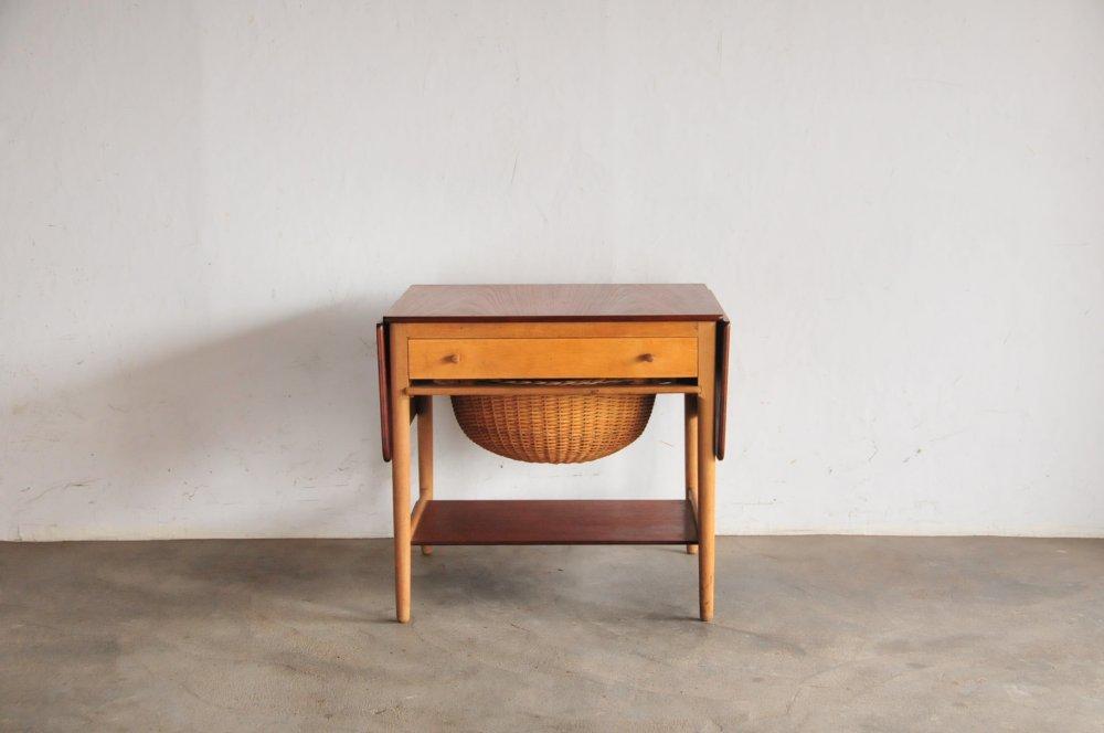Hans Wegner AT33 Sewing Table teak/oakハンスウェグナー ソーイングテーブル